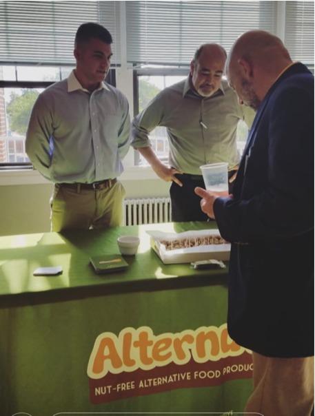 John and Josh, Alternutive's food expert who helped John develop his recipes